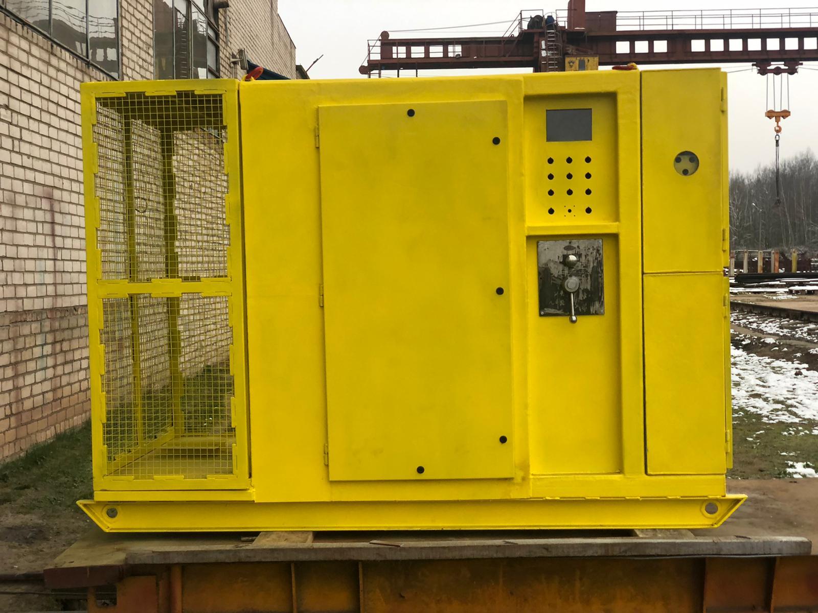 Изготовлен и отгружен в корпус станции управления частотным приводом  РН2
